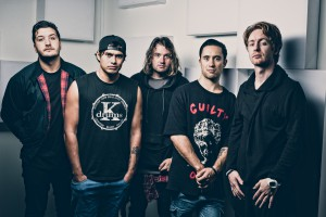 Six60 Promo Image Shoot at Hargreaves Street in Auckland, New Zealand on March 24, 2015.